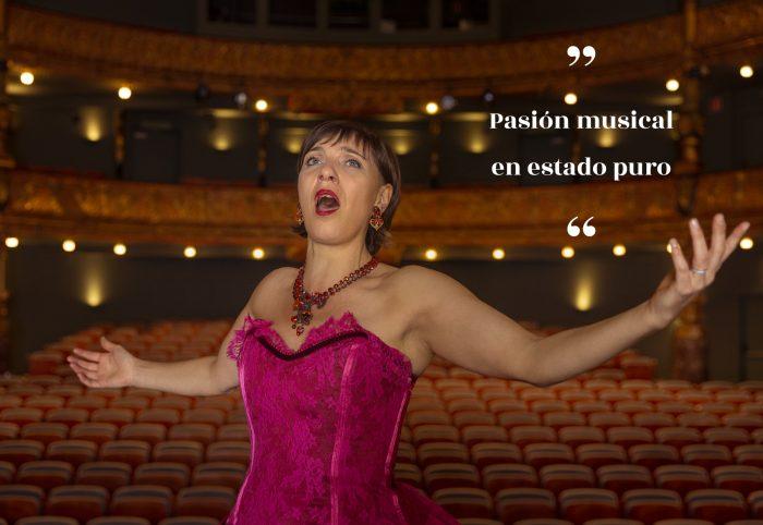 Servicio entranamiento canto con la soprano Angeline Danel